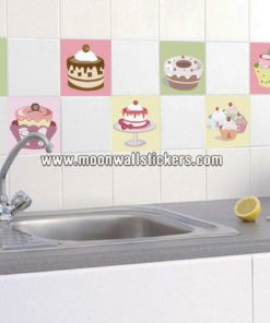 Cakes Stickers for tiles