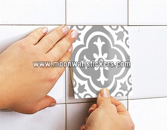 Moroccan stickers for tiles