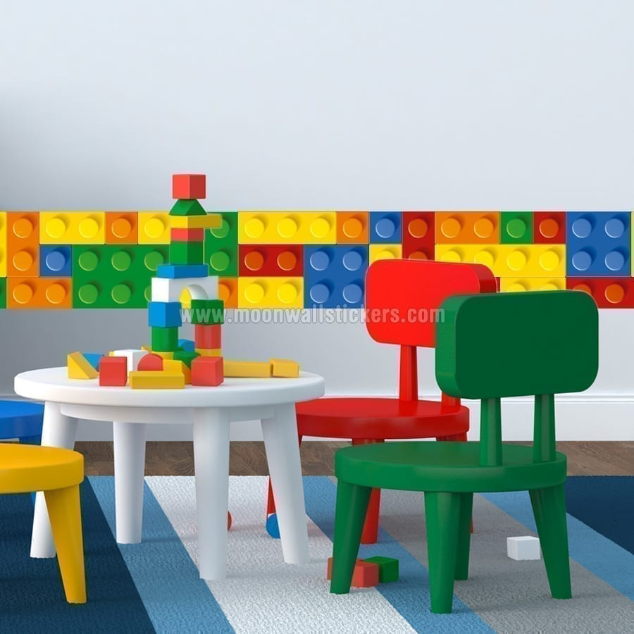 Lego Border Wall Sticker