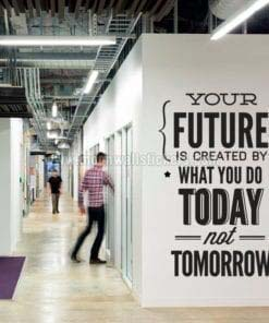 Do It Today Not Tomorrow Wall Sticker