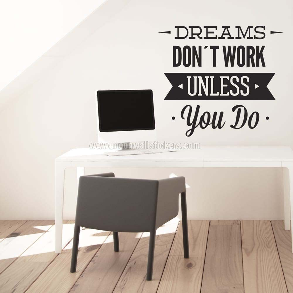 dreams-dont-work-wall-sticker