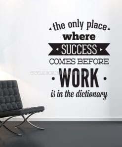 Decoracion Oficina Work To Succeed
