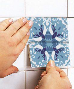 Blue Portuguese Tiles - Apply