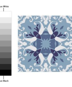 Blue Portuguese Tiles - Color Spectrum