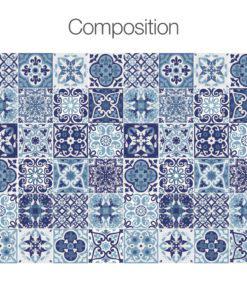 Blue Portuguese Tiles - Composition