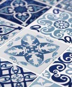 Blue Portuguese Tiles - Detail