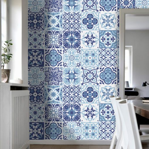 Blue Portuguese Tiles - Wall