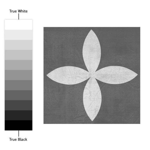 Geometric Graphite Tiles Stickers - Color Spectrum