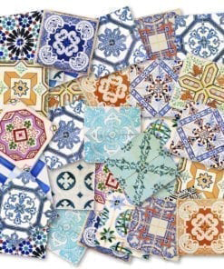 Traditional Spanish Tiles - Detail 1
