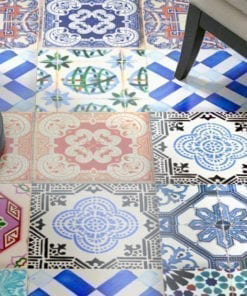 Traditional Spanish Tiles - Floor 1