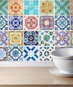 Traditional Spanish Tiles - Wall