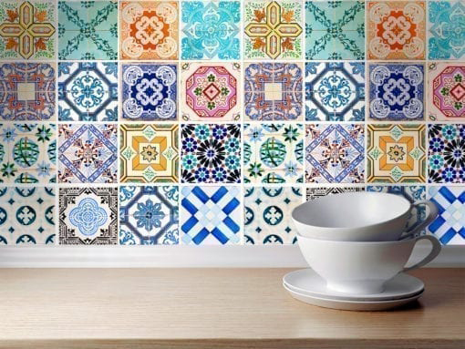 Traditional Spanish Tiles - Wall
