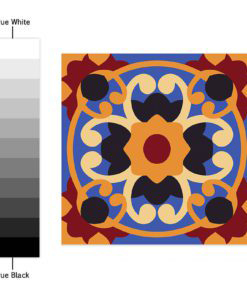 Traditional Talavera Stickers - Color Spectrum
