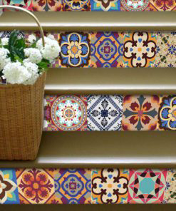 Traditional Talavera Stickers - Stairs