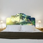Tropical Headboards Stickers