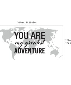 You Are My Greatest Adventure - Dimensions