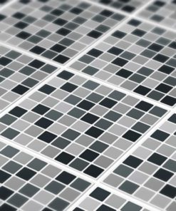 Tile Stickers Tile Picture Tile Stickers Mosaic Orange Black