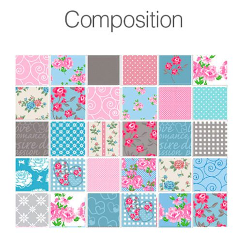 Patchwork Tile Stickers - Composition