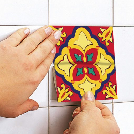 Talavera Tile Decals - Apply