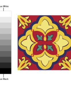 Talavera Tile Decals - Color Spectrum