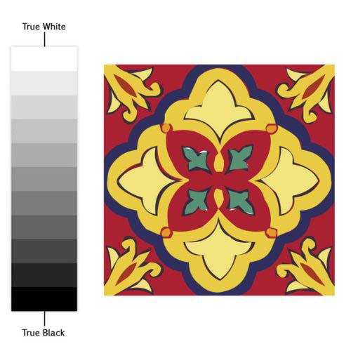 Talavera Tile Decals - Color Spectrum