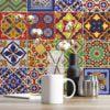 Talavera Tile Decals - Wall 1