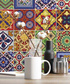 Talavera Tile Decals - Wall 1