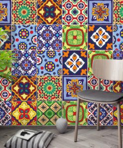 Talavera Tile Decals - Wall