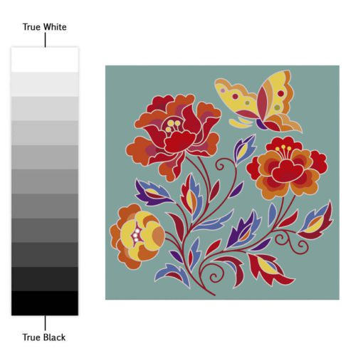Tibetan Traditional Tiles Decals - Color Spectrum
