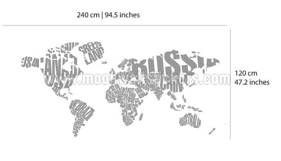 Typography world map country names typography world map country names dimensions gumiabroncs Choice Image