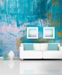 Urban Blue Art Wall Murals