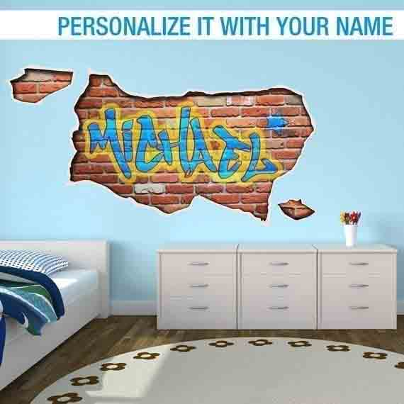 Personalized graffiti custom name