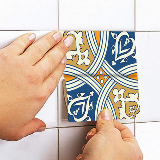 Royal Traditional Tile Decals - Apply