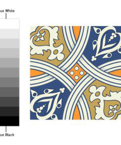 Royal Traditional Tile Decals - Color Spectrum