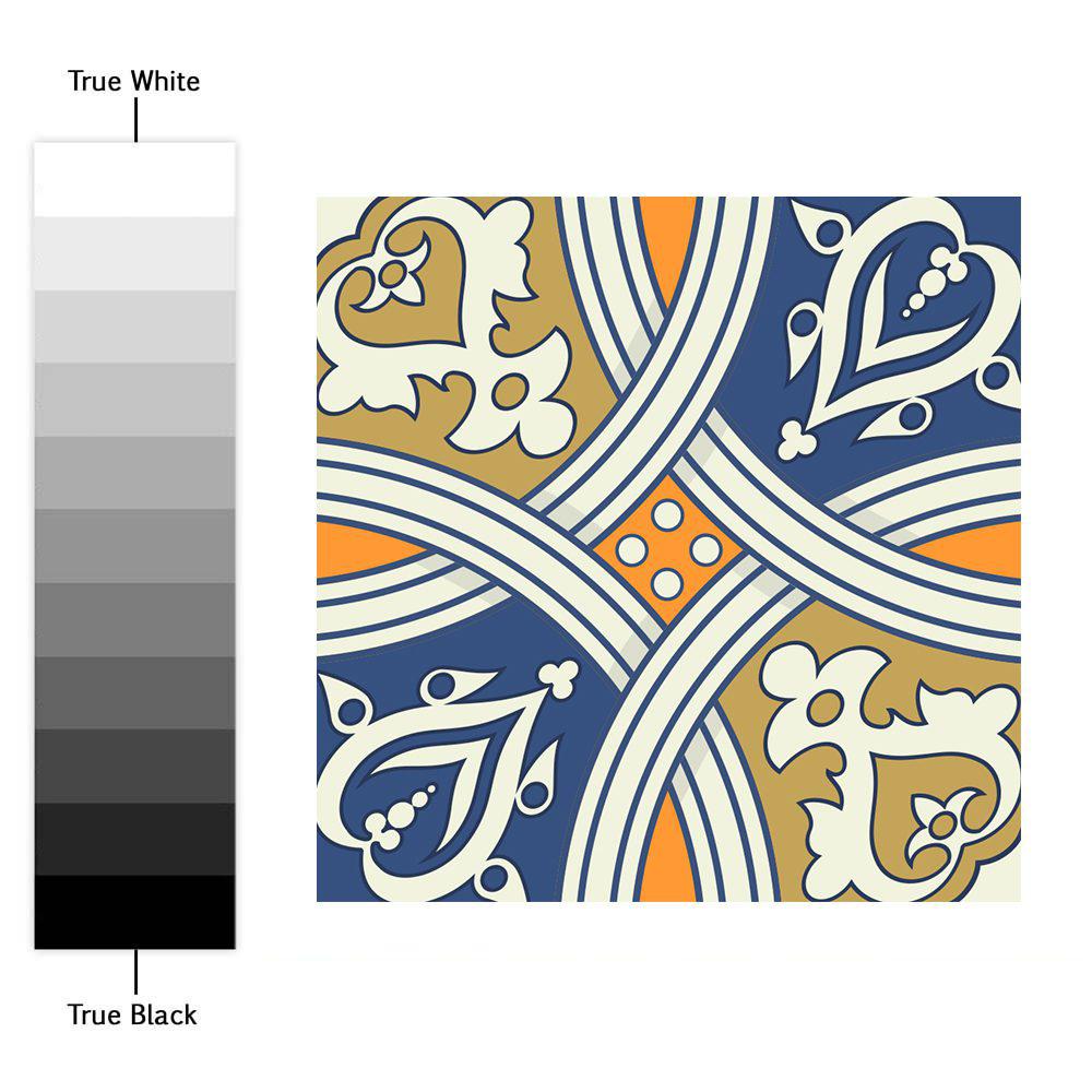 Reale tradizionali adesivi piastrelle set di 100 for Stickers adesivi per piastrelle
