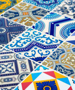 Royal Traditional Tile Decals - Detail