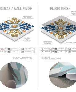Royal Traditional Tile Decals - Material
