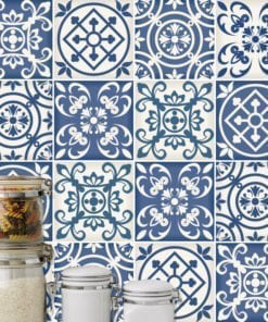 Traditional Spanish Blue Tiles
