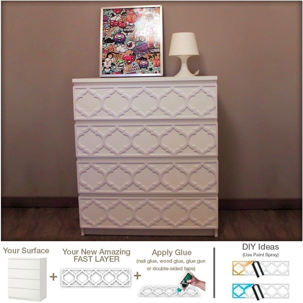 trellis furniture appliques. Black Bedroom Furniture Sets. Home Design Ideas