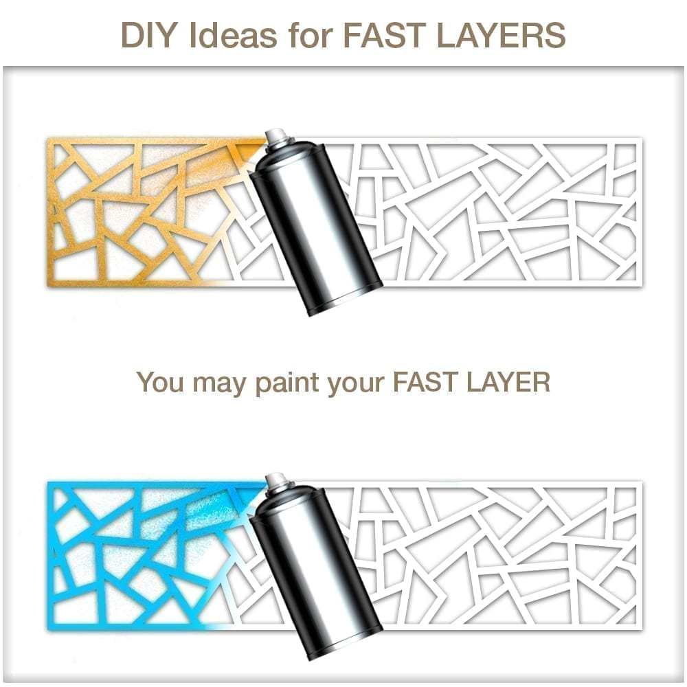 Awesome DIY Furniture Overlays Coral