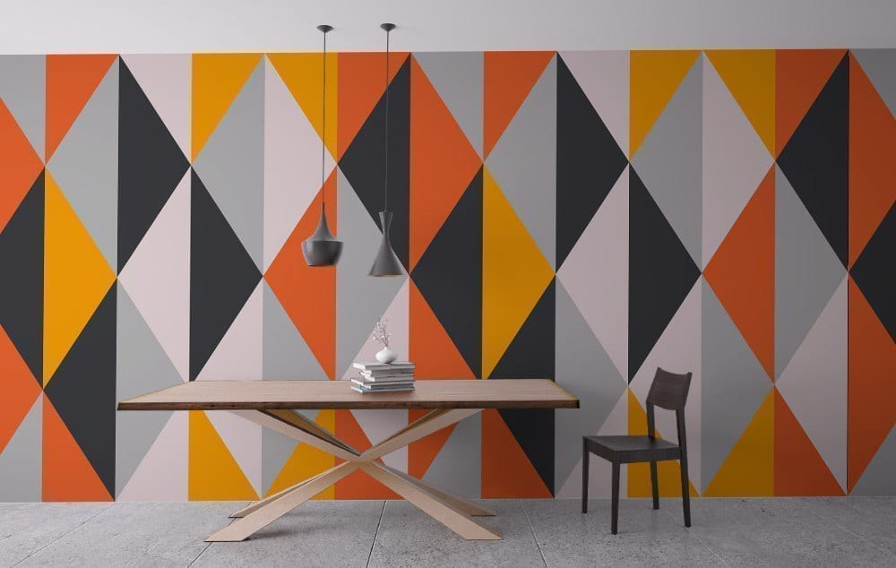 Geometric Wall Art geometric wall art - moonwallstickers