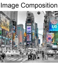 New York Lights Wall Art Composition