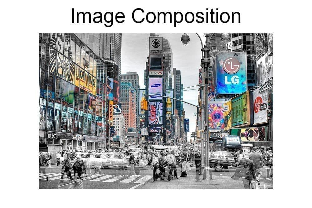 New York Lights Wall Art Composition