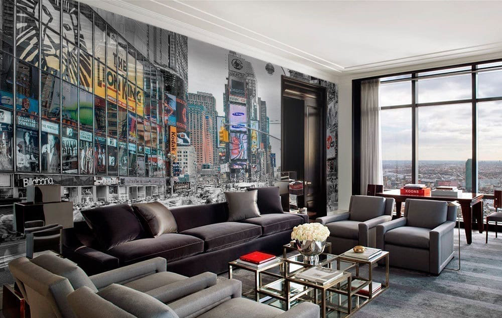 Superbe New York Lights Wall Art