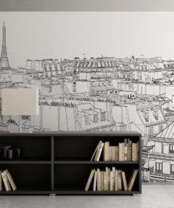 Paris Outlines Wall Art