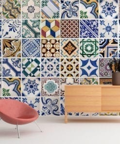 Portuguese Tiles Wall Art