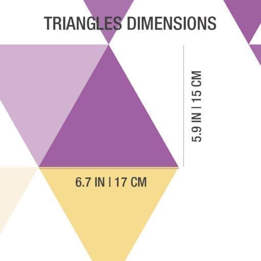 Geométricos Mid Century Triángulos Detail