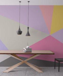 Mid Century Pastel Wall Art