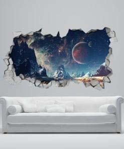 Alienscape Broken Wall