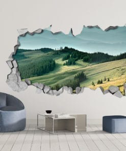 Green Woods Wall Art